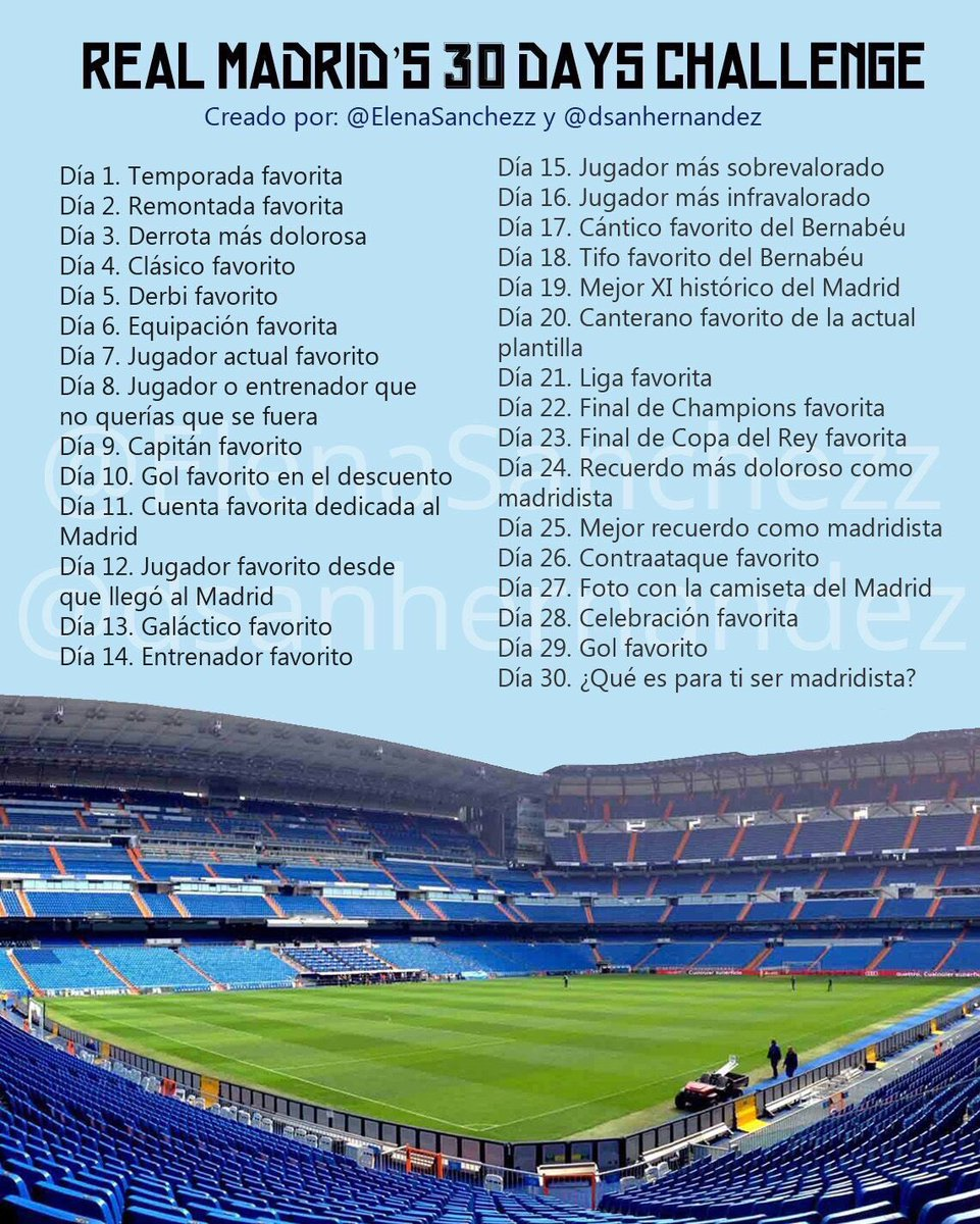 Real Madrid's 30 days challenge C5_SlPuWAAAwaw3