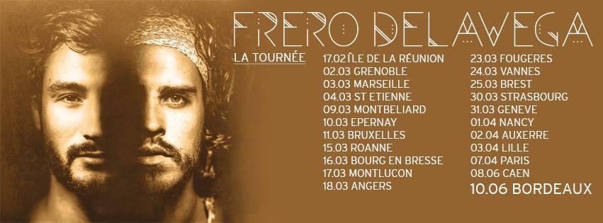 FOLLOW + RT  pour tenter de gagner 2 places pour le concert des @FreroDelavega CE SOIR @ #Marseille !!! 🎁 https://t.co/30nlqrJNvj