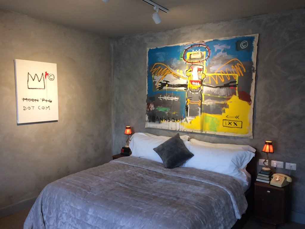 Banksy's Walled Off Hotel opens its doors on Bethlehem's barrier wall