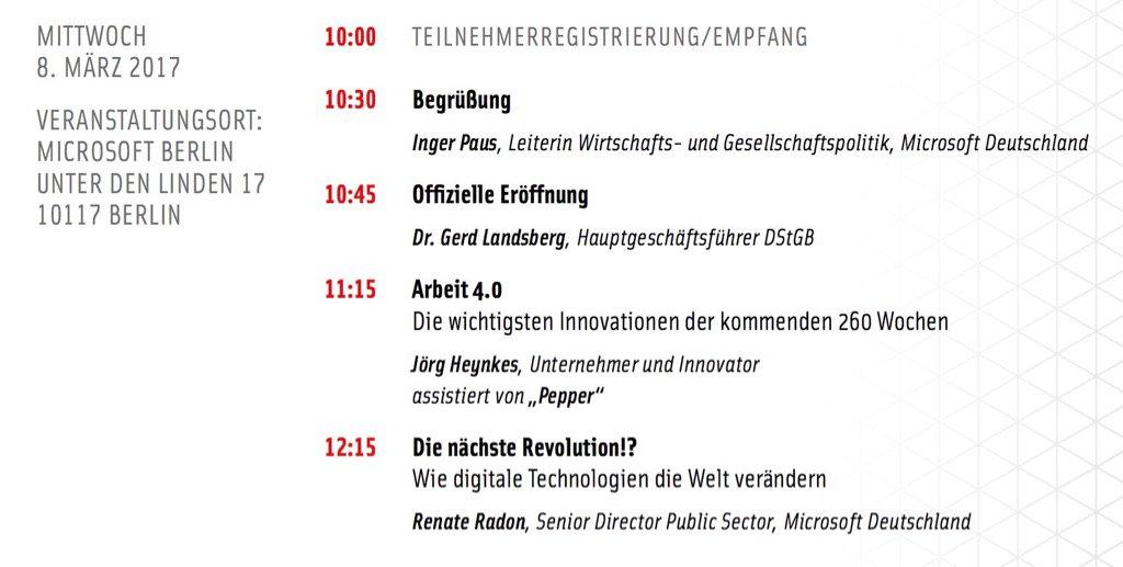 """Roboter Mr. Pepper """"spricht"""" auf dem Deutschland Forum des Innovators Club am 8. März in Berlin #Kommunen #20DFIC https://t.co/cxATbxGdj6"""