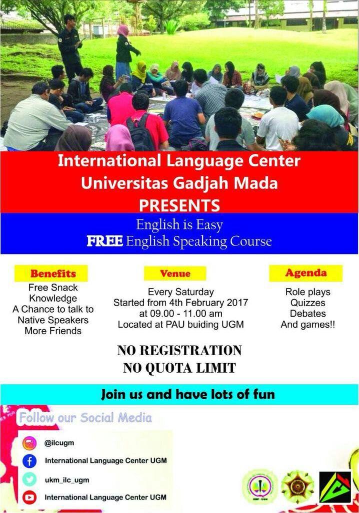 International Language Center UGM on Twitter: