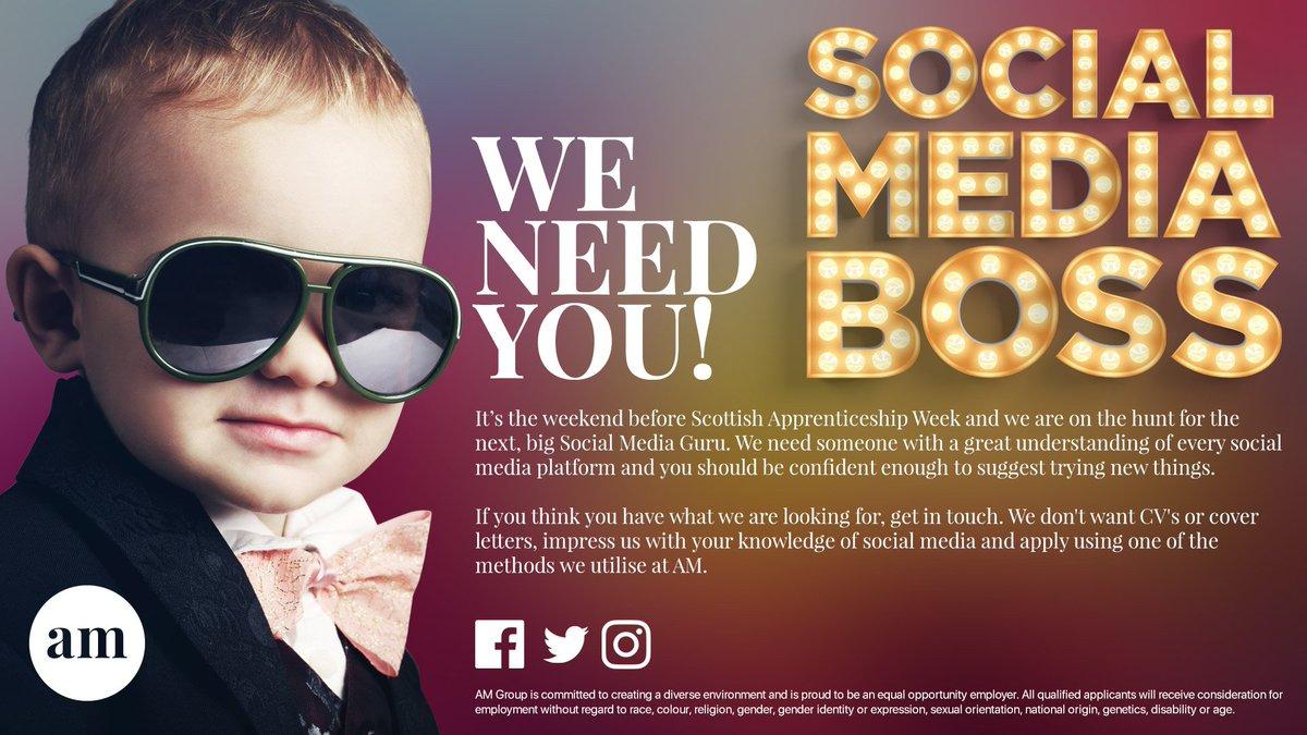 ayrshiremagazine on twitter social media boss we need you no cvs