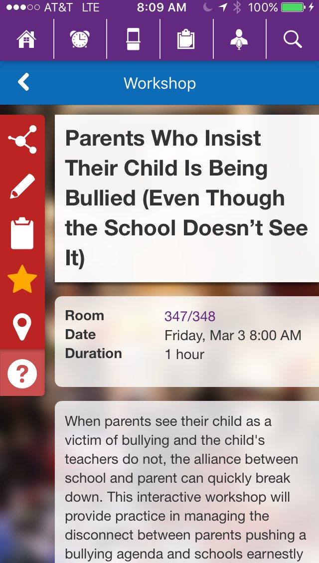 Learning about bullying v. Social cruelty. #naisac https://t.co/IbL3wkvumT