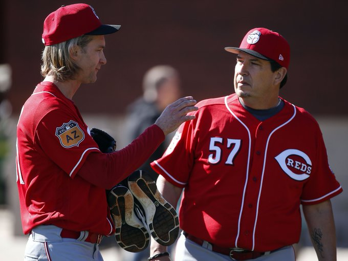 Cincinnati Reds wish Bronson Arroyo a happy birthday and hope he gets better with age