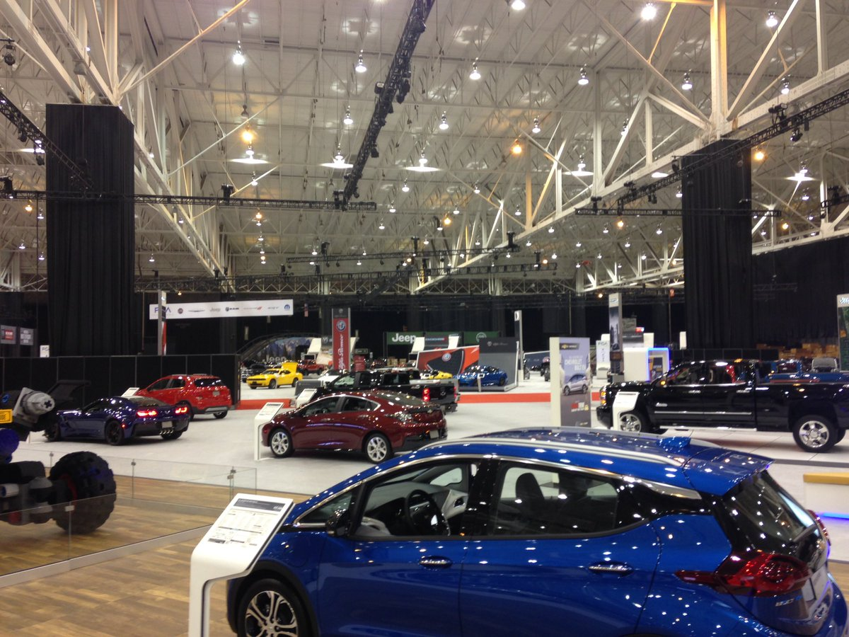 Damon Maloney On Twitter We Re Live The Ix Center This Am Where Later Today 2017 Cleveland Auto Show Kicks Off Stay Tuned All Morning As Get