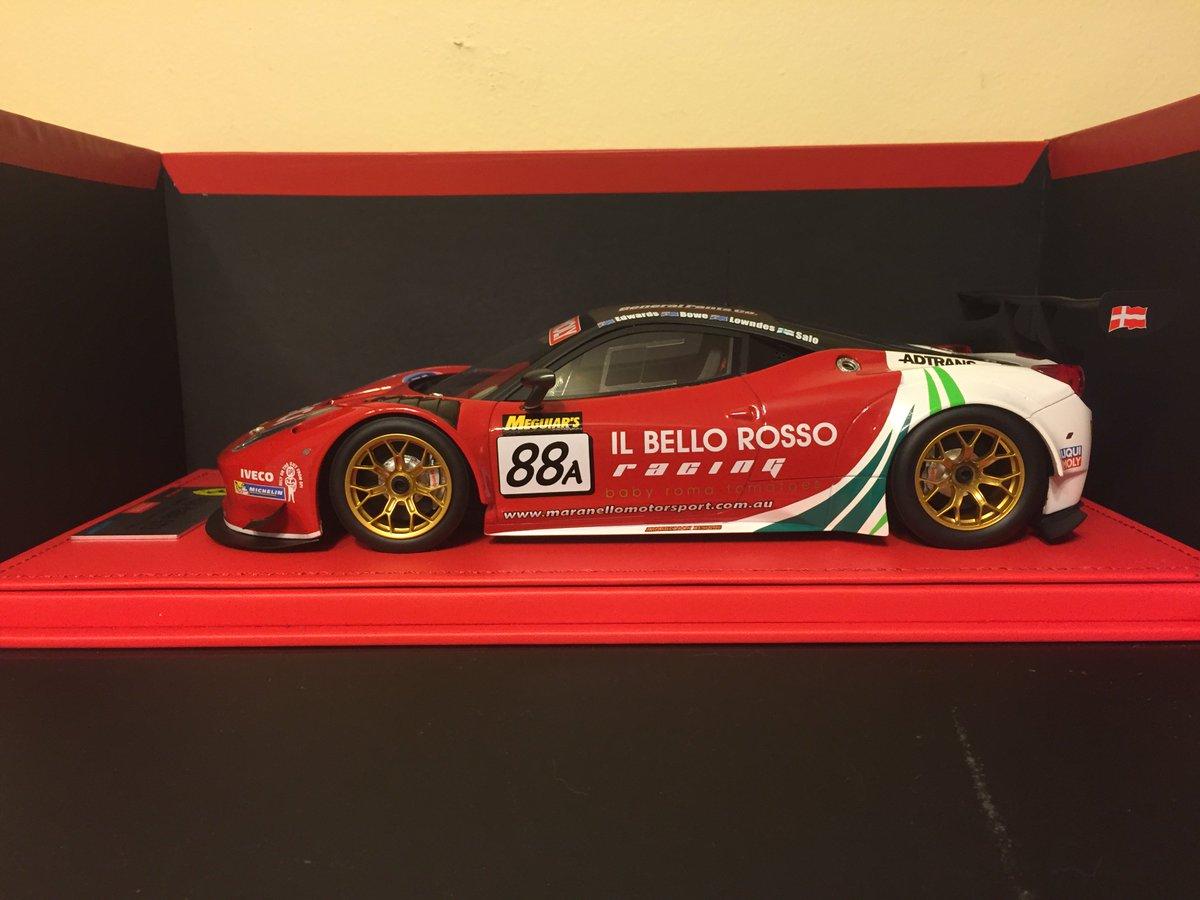 *someone* got some mini-me Ferrari panels today  #B12HR2014 #Lowndes #Salo #Bowe #Edwards #winner @maranellomspt<br>http://pic.twitter.com/BMy3xa3VbO