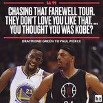 RT @NBA_Skits: Draymond Green is a straight up sav...