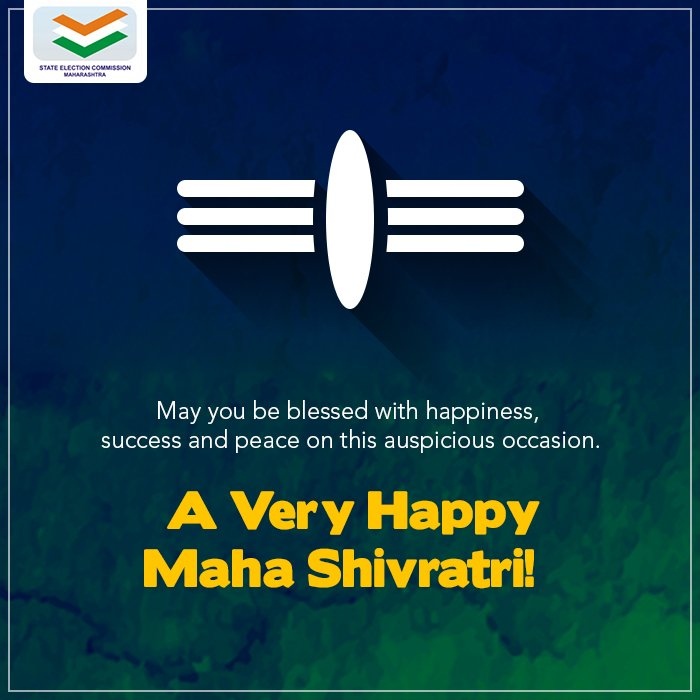 We wish you and your loved ones a blessed and prosperous #MahaShivaratri!