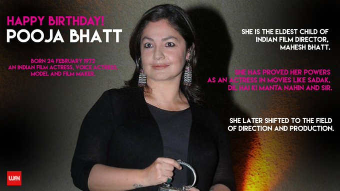 Happy Birthday Pooja Bhatt