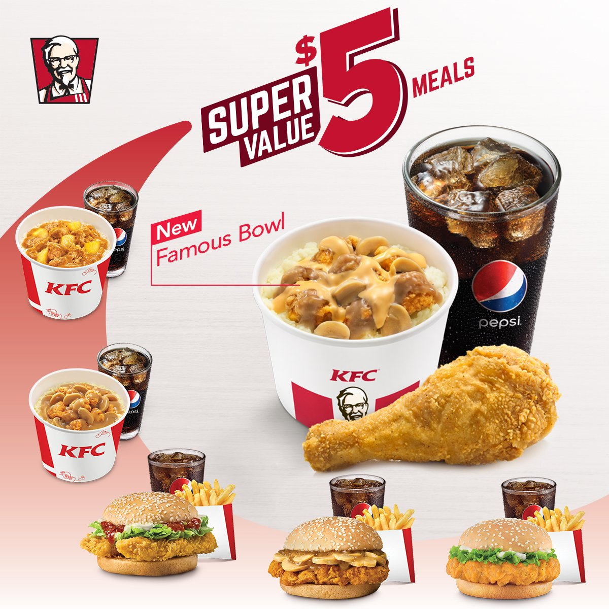"""kfc singapore on twitter: """"always on the hunt for the best deal"""