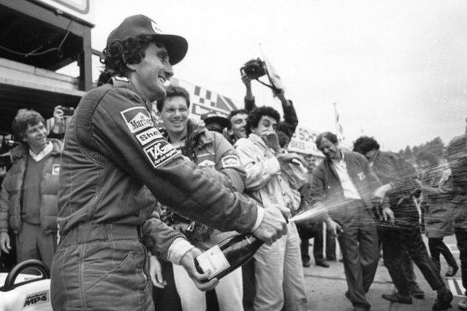 Happy birthday to champion, Alain Prost