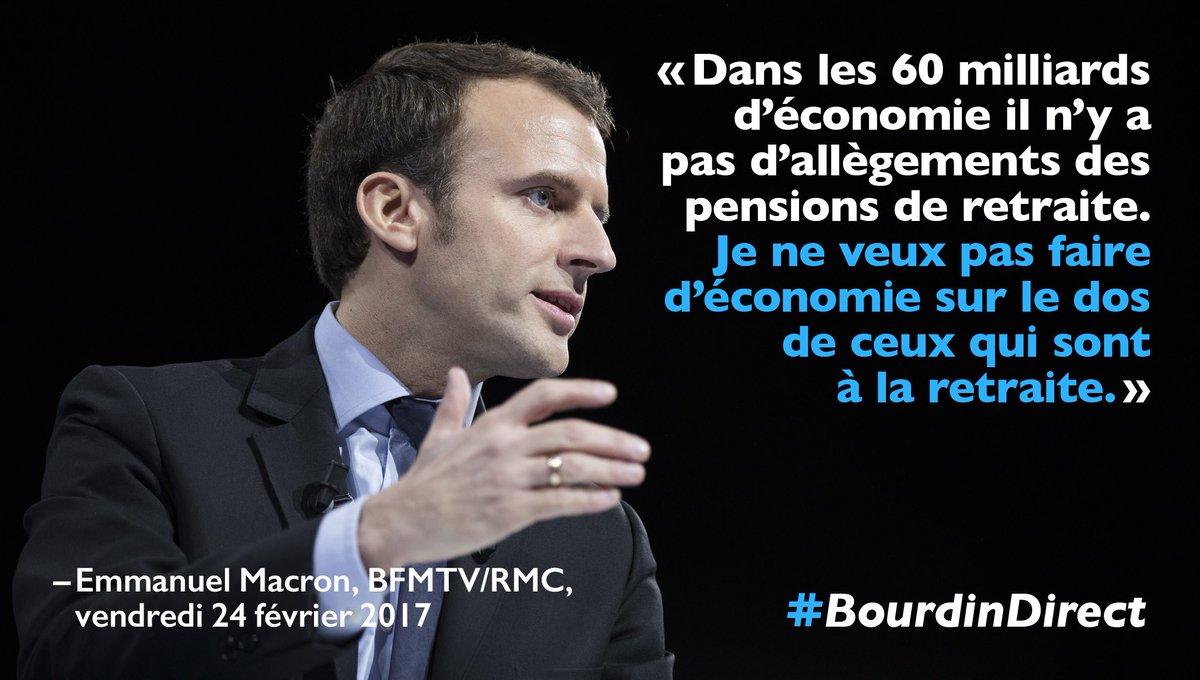 Emmanuel Macron On Twitter Je Ne Veux Pas Faire D Economie Sur Le