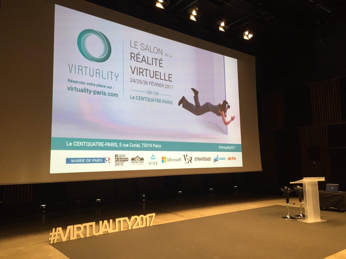 Dans quelques instants, premier live en direct de #Virtuality2017 avec la conférence de presse d&#39;introduction sur notre page #Facebook ! <br>http://pic.twitter.com/cbo3rXCnEg