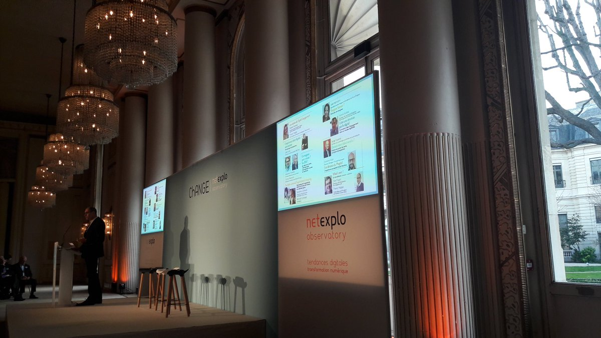 Ouverture @Netexplo #change #Innovations #retail<br>http://pic.twitter.com/sGSNTCDYIg