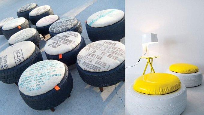 10 ideas para reciclar neumáticos
