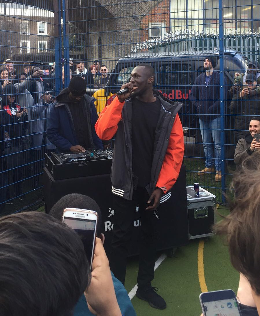 It's the man himself! @Stormzy1 taking over Camden