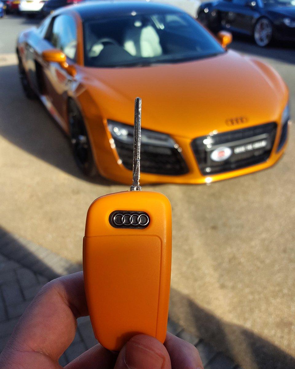 Gc Motors On Twitter Colour Coordinated Audi R8 In Samoa Orange