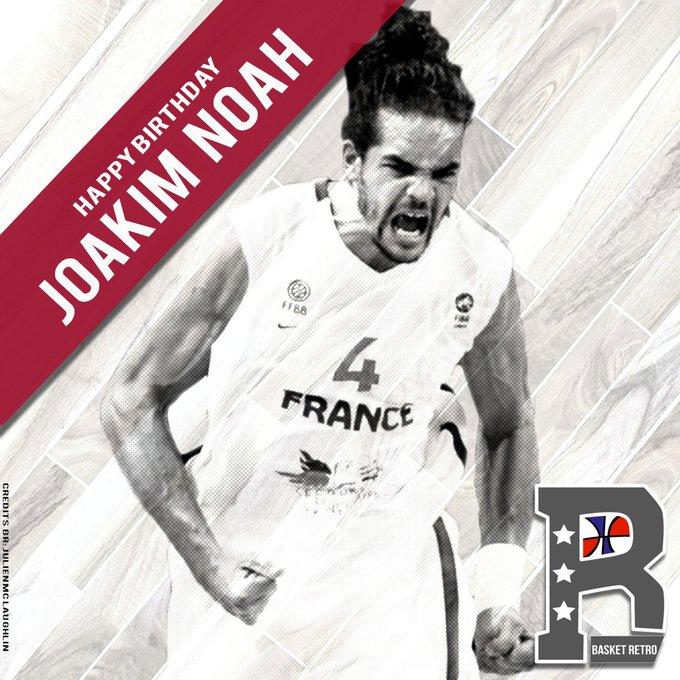 Happy Birthday Joakim Noah !