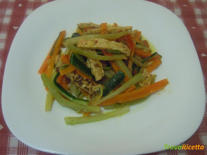 Filetti di verdure e tempeh