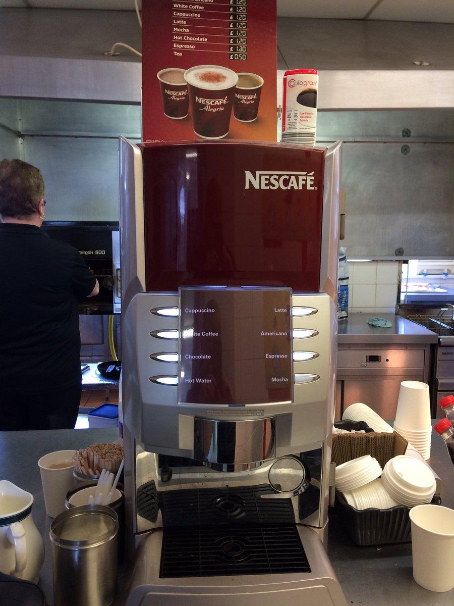 @compassgroupuk DWP Staff loving #Alegria #coffee Machine credit to staff @NestleProDerick<br>http://pic.twitter.com/IjihuTekNC