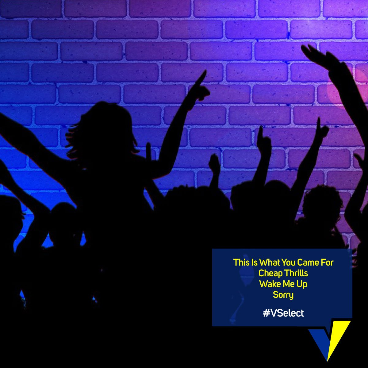 #VSelect these as the most happening songs for your party mode! Watch...