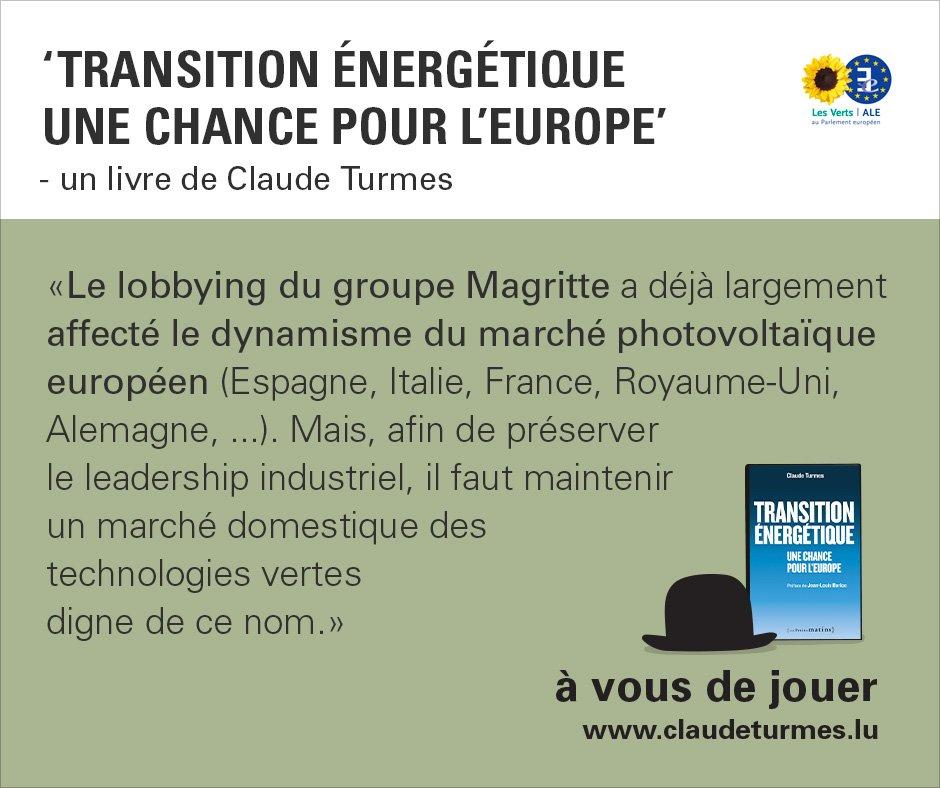 Mon livre sur la #transitionenergetique est sorti ! Mobilisons les acteurs progressistes pour plus d&#39;ambition énergie/climat #EnergyUnion<br>http://pic.twitter.com/0eFgKTV4ZX