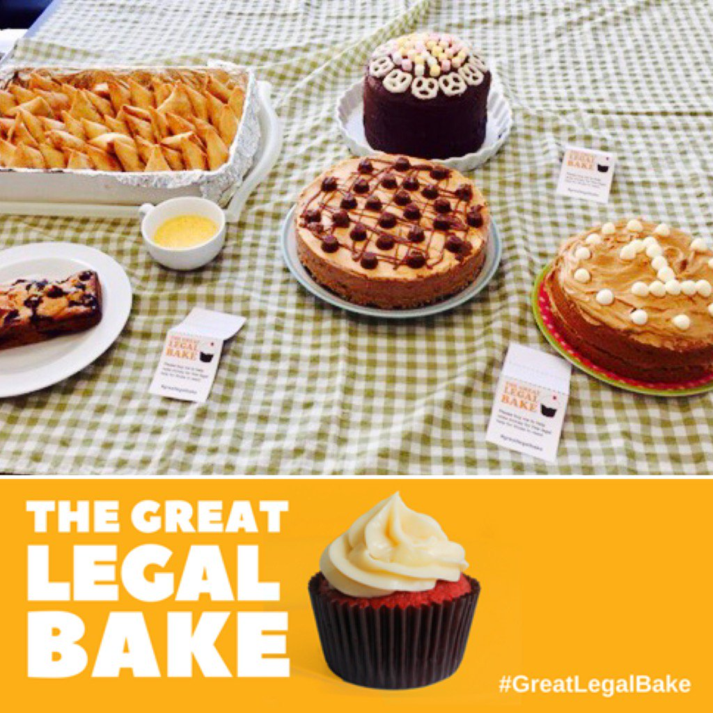 The final day of #GreatLegalBake brought to the office famous samosas and some delicious cakes! @greatlegalbake https://t.co/JNWITtRQsm