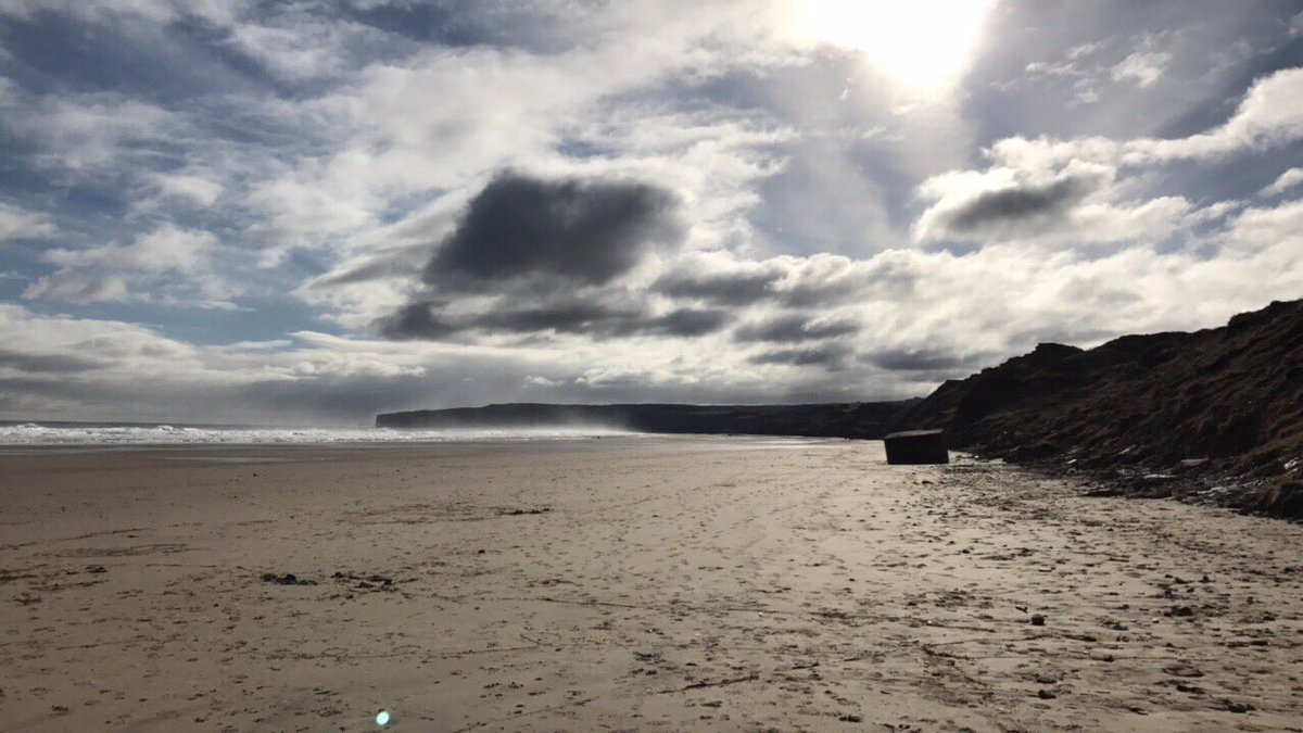 It was a nice #morning on #Filey #Beach for a #10km run  <br>http://pic.twitter.com/giuOr1I8DQ