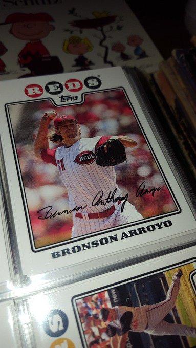 Happy birthday, Bronson Arroyo!