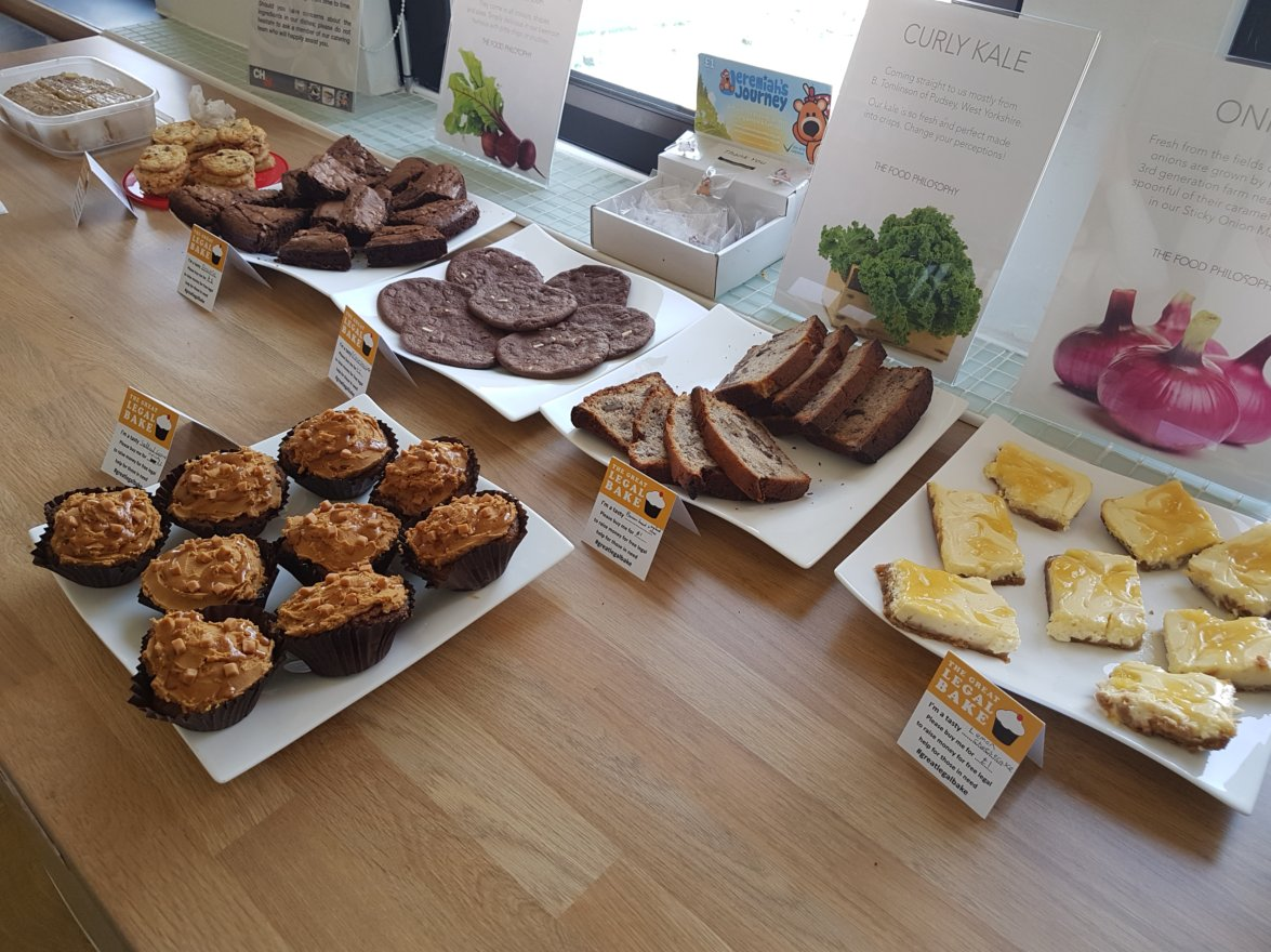 Bakers galore @Bond_Dickinson! Our #Plymouth office have been busy preparing for the @greatlegalbake in aid of @SouthWestLST #greatlegalbake https://t.co/OuWZlimwsj