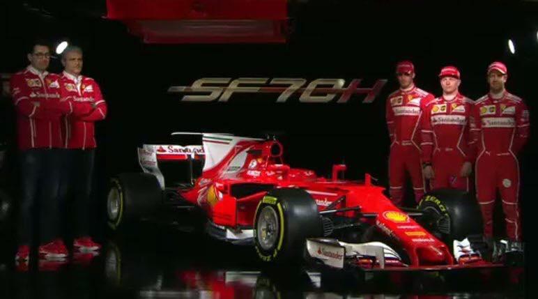 Vedere Presentazione Ferrari 2017 Streaming Online Rojadirecta