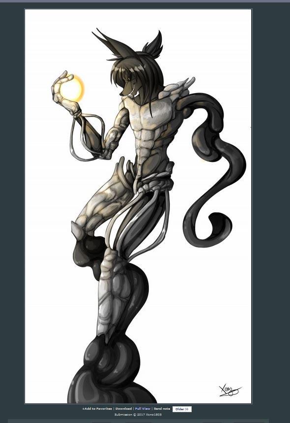 &quot;The Magician feat. LuXur&quot;  Disponible avec 3 autres créa sur mon DA    http:// xenokagamine.deviantart.com / &nbsp;    #RT pour m&#39;aider #DigitalPainting #Furry <br>http://pic.twitter.com/YWrOSWBOF0