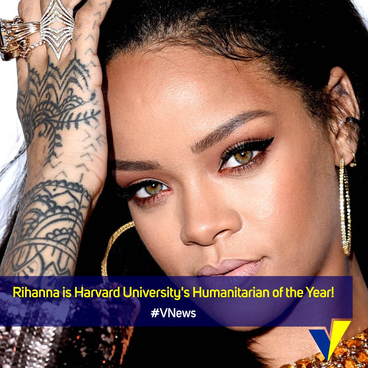 Calling all the @Rihanna fans! Another feather in her cap. Any excited...