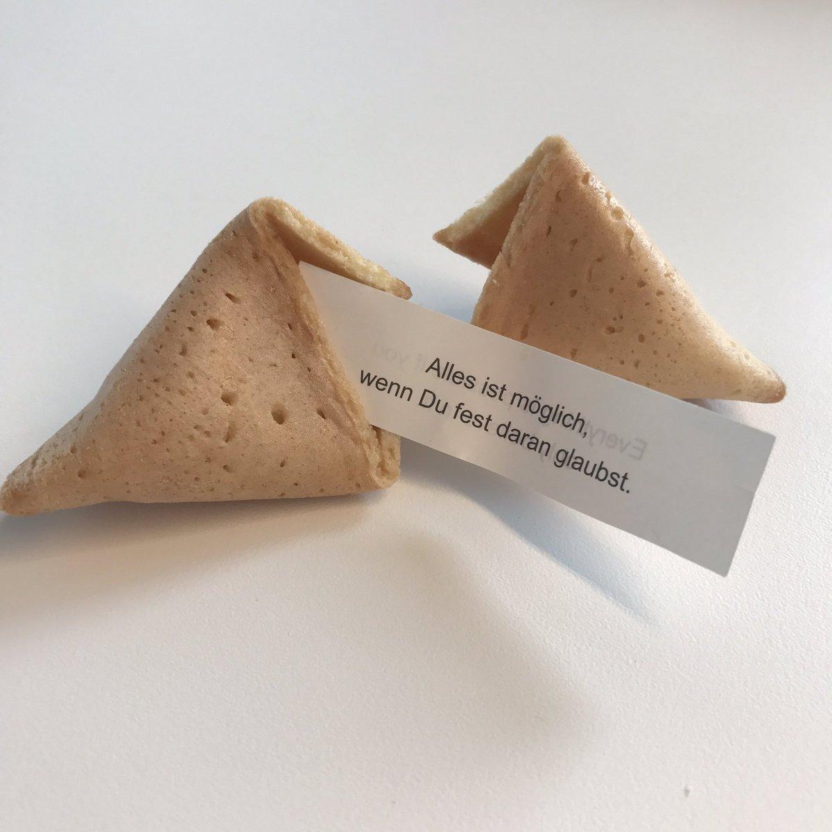 Mein Glückskeks hat so recht! 🙏🏻✨