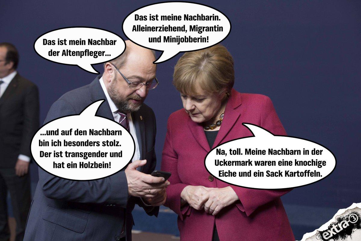Bildergebnis für Wikimedia Commons Schulz SPD - Merkel CDU Karikaturen