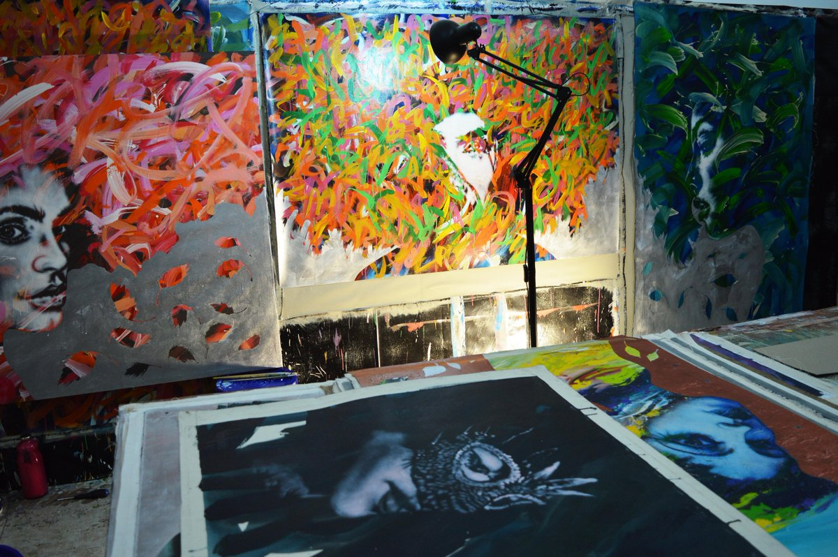 #Art by @VictorAsuaje #arte #Estudio #Studio #atelier #workshop #creative #morning #paintings #pinturas #light #Figurative #color #love #US<br>http://pic.twitter.com/5QCji0wZBg