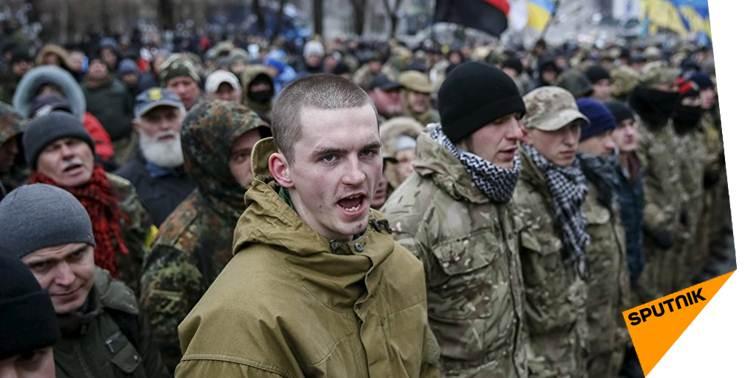 Militants US: #Obama et #Soros responsables du coup d'État en #Ukraine &gt;&gt;  http:// sptnkne.ws/dC7k  &nbsp;   #ÉtatsUnis #manifestation<br>http://pic.twitter.com/YUP9b6dyoJ
