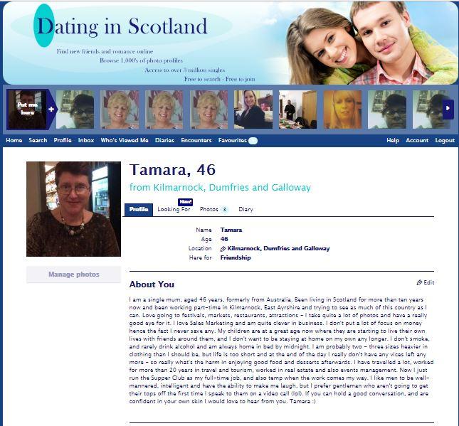 online dating Dumfries