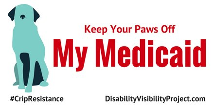 Keep your doggone paws off my #medicaid !!! #CripResistance #CriptheVote   via @DisVisibility  @SpeakerRyan @VP @SenateMajLdr<br>http://pic.twitter.com/bD97xqysHd