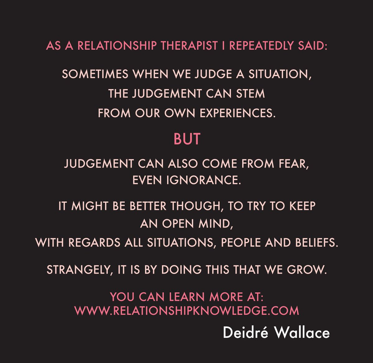 Learn more about yourself, #relationships and why we #judge at: https:...