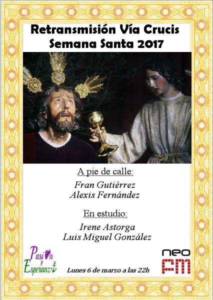 ¡IMPORTANTE! El próximo lunes 6 de marzo retransmitiremos en #Directo el #VíaCrucisSevilla17 del Señor de la Oración en el Huerto.<br>http://pic.twitter.com/XxTkVewOjI