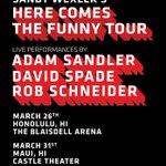 See you in Hawaii Honolulu: https://t.co/CruBh3Jedk Maui: https://t.co/mSI5Yv2F4K