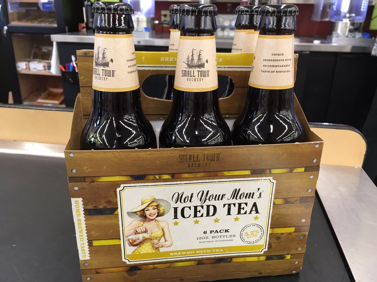 New Iced Tea flavor of Not Your Mom's just came in from @smalltownbrew...