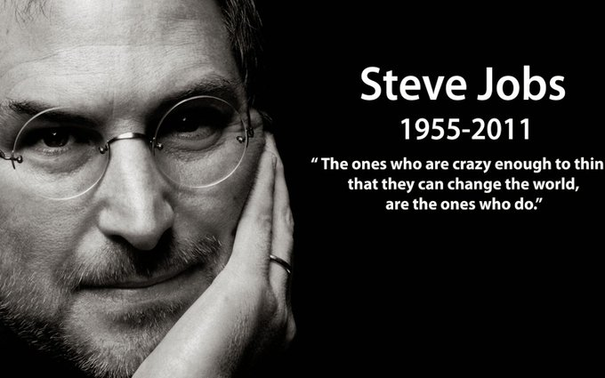 Happy Birthday Steve Jobs. Thank you for changing the world!