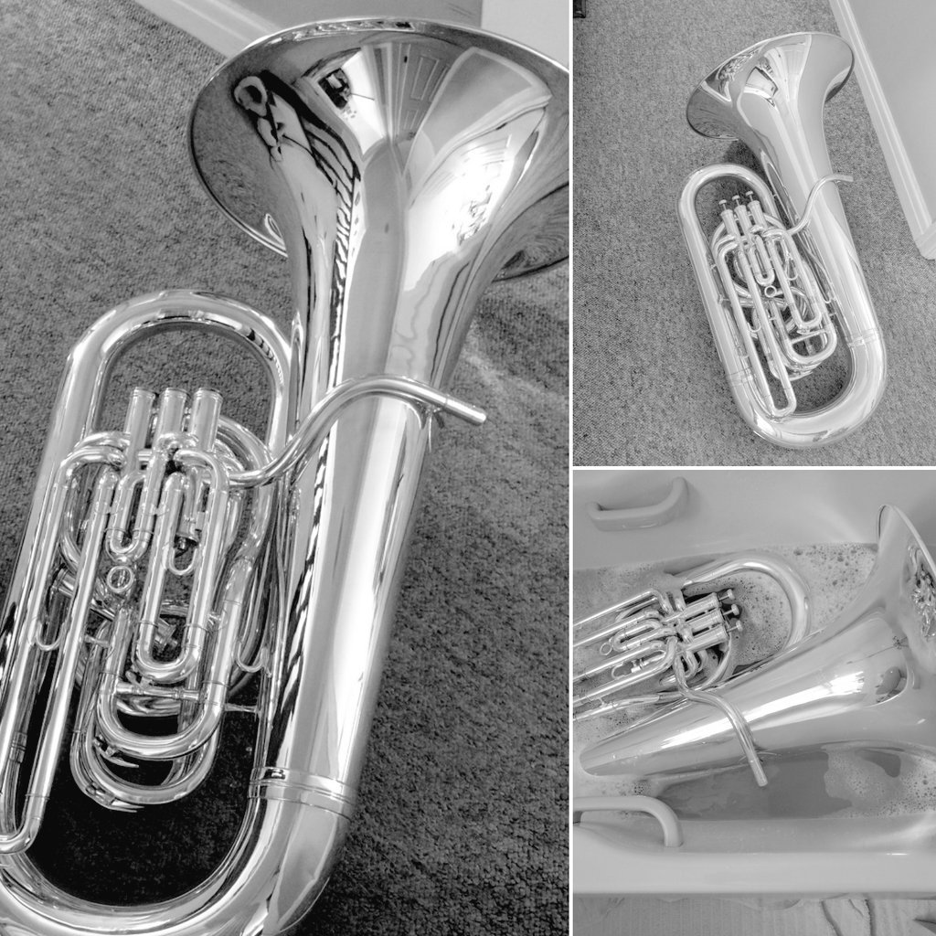 A busy few hours this morning for one our bass players! #ERYB #Besson #Tuba @BessonLondon<br>http://pic.twitter.com/SFdbXO9pDK