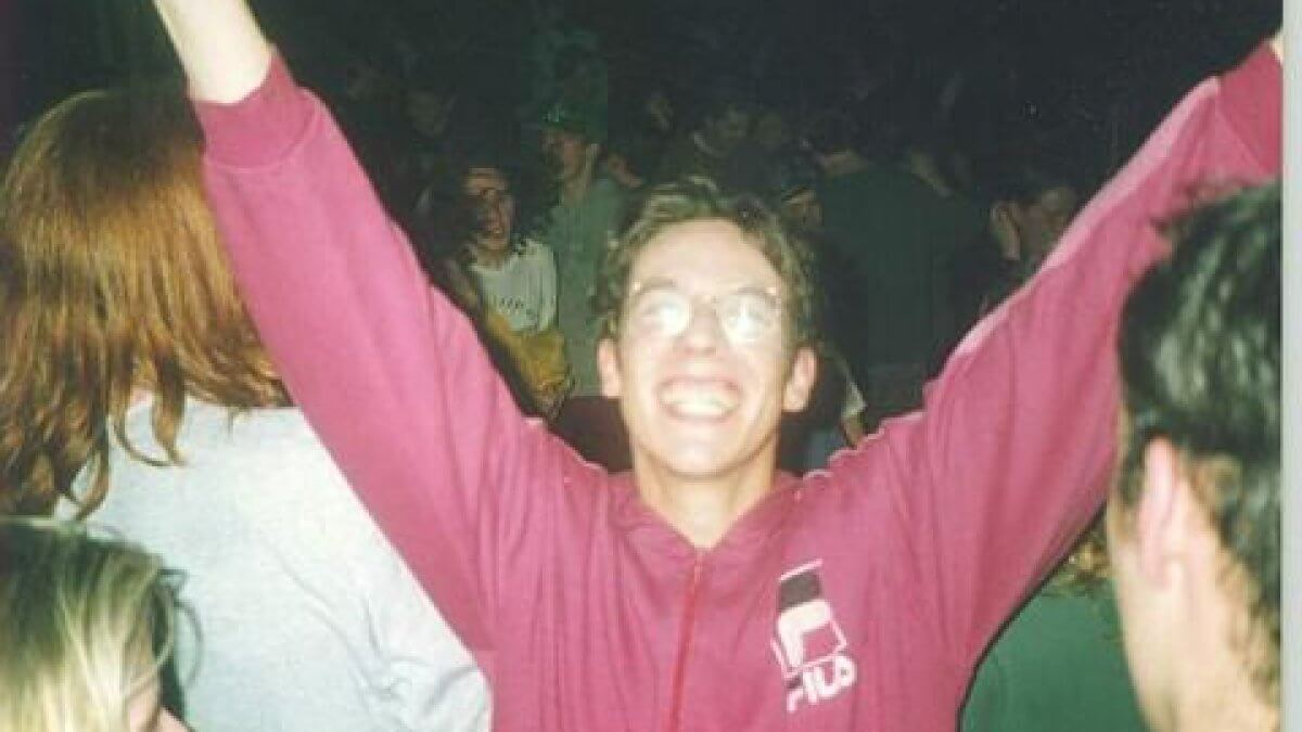 Social Media Post: A new documentary traces the origins of Dublin's underground rave...