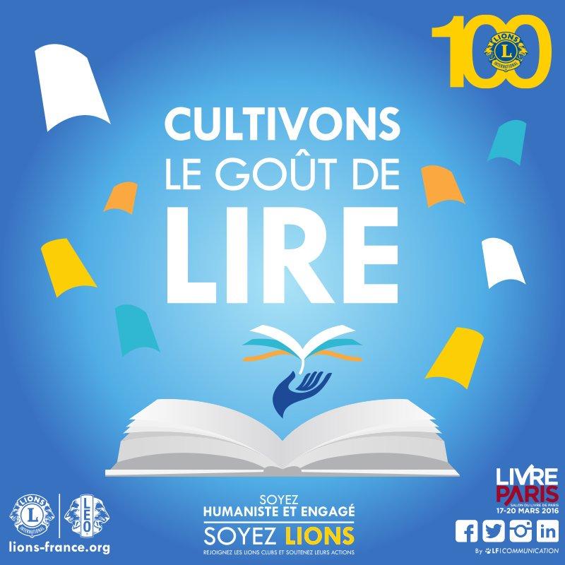 #VendrediLecture : Cultivons le goût de lire  #lions100 #lionsclub #leoclub #lions #leo <br>http://pic.twitter.com/mdYAGzroRK