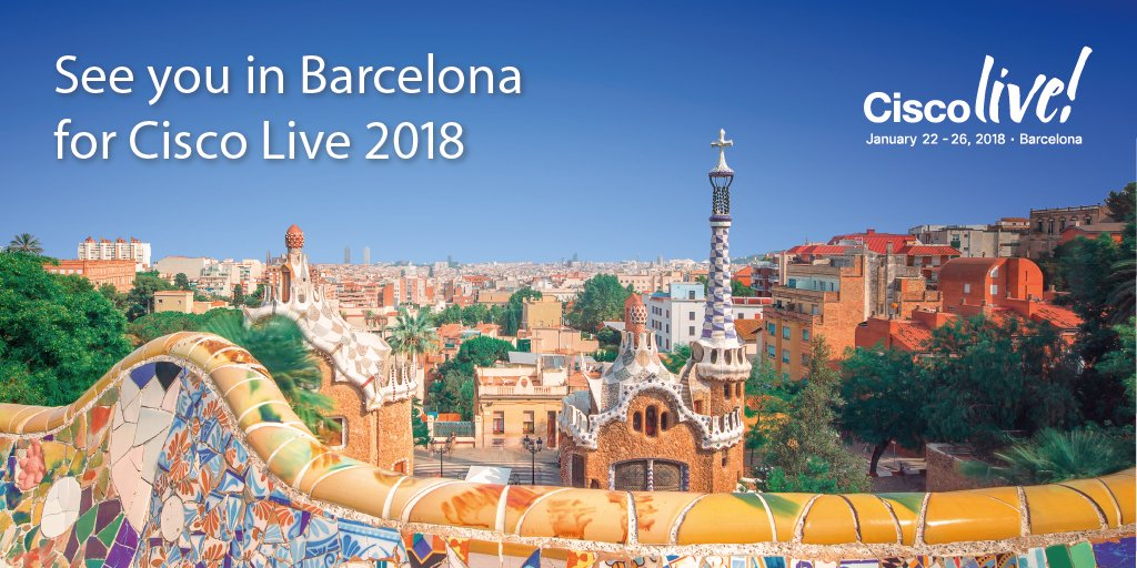 We're excited to be taking @ciscoliveeurope to Barcelona for #CLEUR 2018 - who's coming with us? https://t.co/8abFuLNTVg
