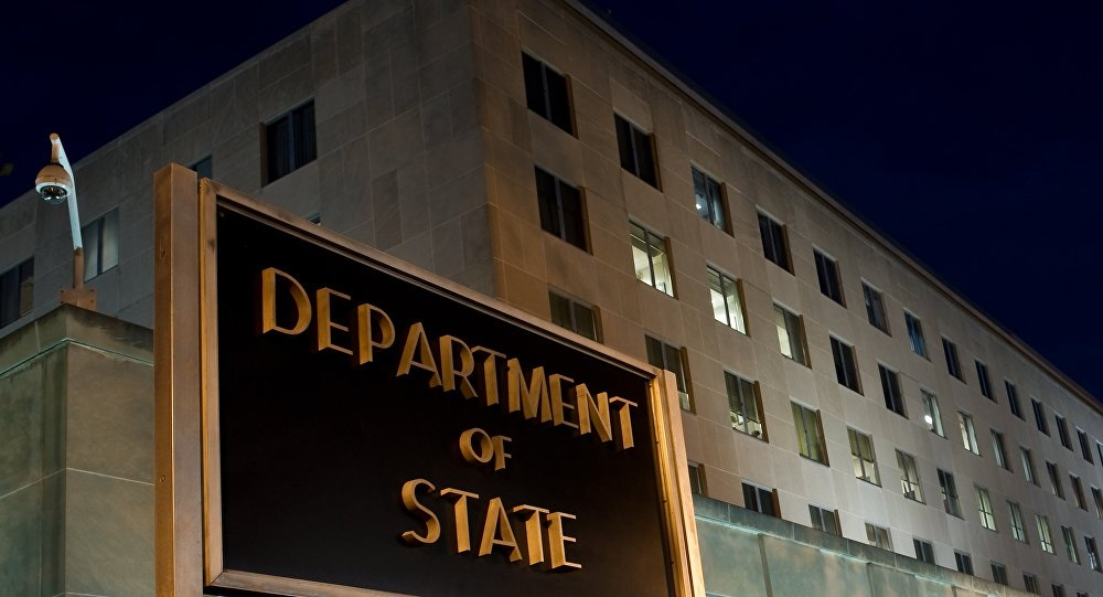 US State Department issues memo against leaks by employees for #RexTillerson  http:// sptnkne.ws/dCBG  &nbsp;  <br>http://pic.twitter.com/zaxBVmdcAp