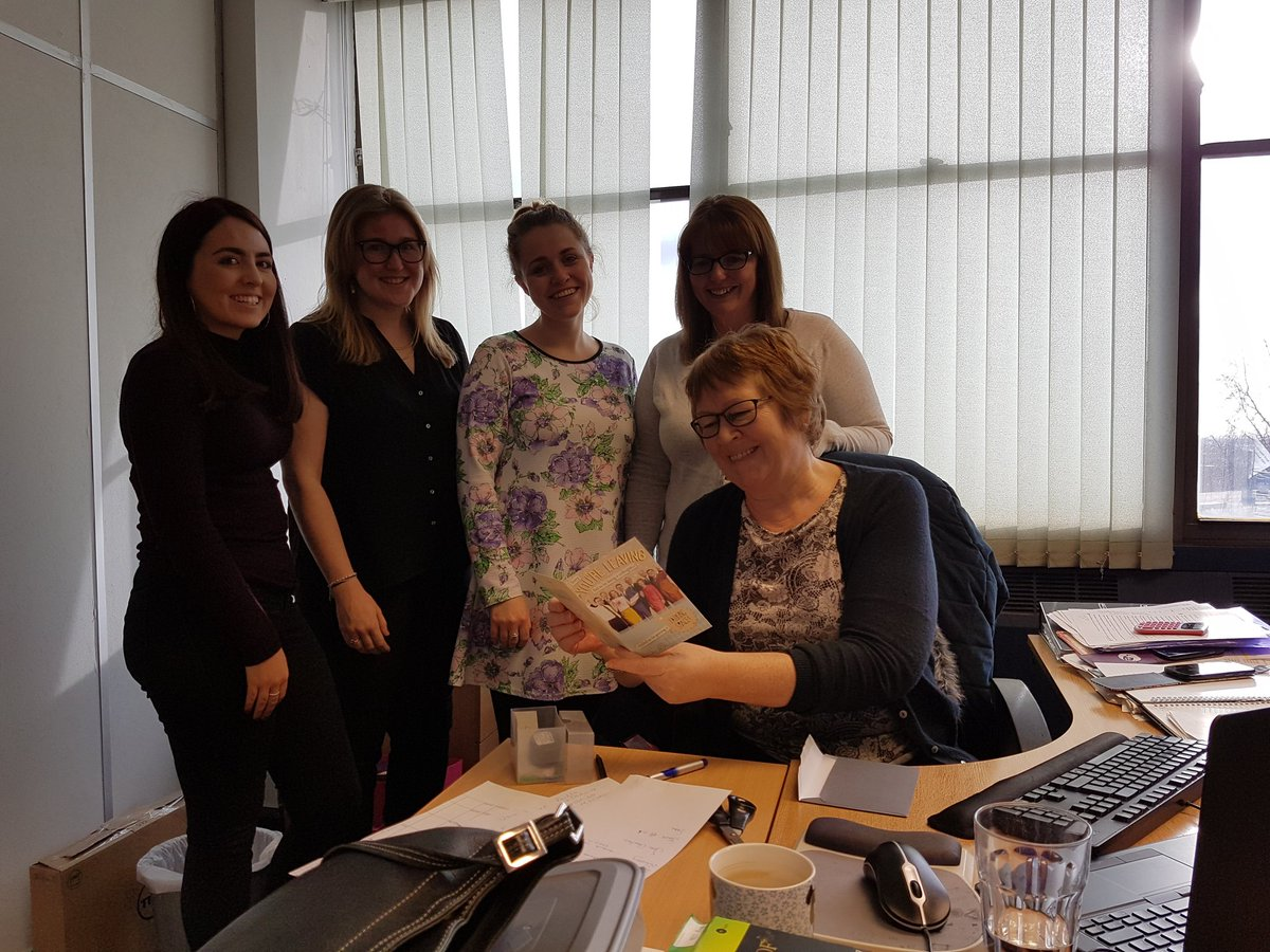 A fond #farewell from the regional administration #team to Julie.  Best of #luck in #sheffield ...thanks for the #carpark space!! <br>http://pic.twitter.com/WFG65ERhIm